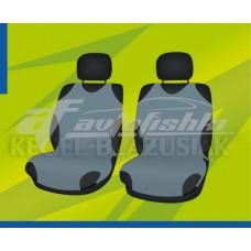 Универсальные чехлы (майки) на передние сиденья, серые