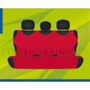 Универсальные чехлы (майки) на задние сиденья, красные