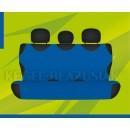 Универсальные чехлы (майки) на задние сиденья, светло-синие