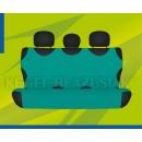 Универсальные чехлы (майки) на задние сиденья, зеленые