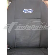 Чехлы на сиденья для Ford Conect без столиков c 2002-13 г (1+1)