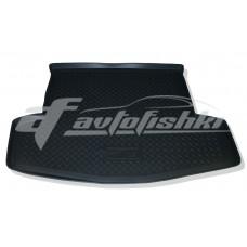 Коврик в багажник резиновый для Infiniti JX35 (QX60) (сложенный 3 ряд) 2012-… Norplast