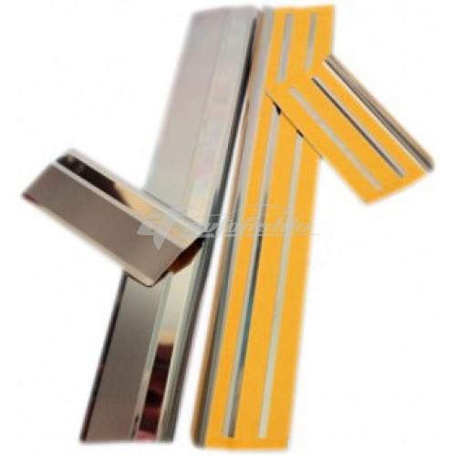 Пороги для RENAULT KOLEOS 2008- ,к-т 4 шт.