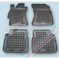 Коврики в салон резиновые для Mazda 2 II 2007-2014 Rezaw-Plast