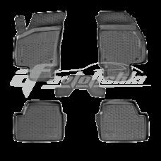 Коврики резиновые на Opel Astra HB (04-) тэп к-т