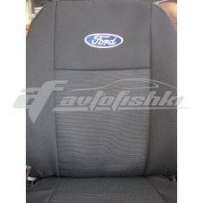 Чехлы на сиденья для Ford Transit Custom 1+2 2012-… Elegant