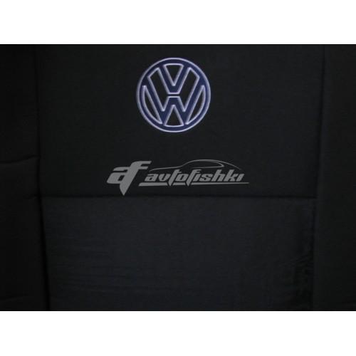 Чехлы на сиденья для VW Caddy 5 мест (1+1) с 2010 г