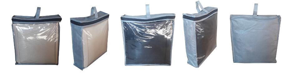 на фотографии майки-чехлы на сиденья упакованные